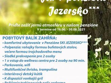 Jar v penzióne Jezersko***